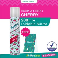 Batiste Fruity & Cheeky Cherry Dry Shampoo 200ml FREE Foldable Mirror