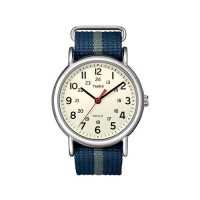 Jam Tangan Analog Timex Weekender Slip - T2N654