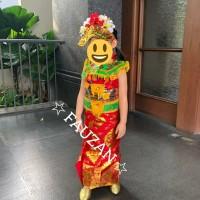 Baju Bali & Aksesoris TK & SD // Baju Adat Bali // Pakaian Adat Bali