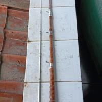 Joran Pancing Klasik bambu cendani GM langka 155 cm