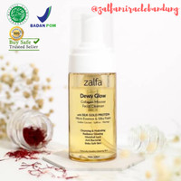 Zalfa Miracle Dewy Glow Collagen Mousse Facial Cleanser