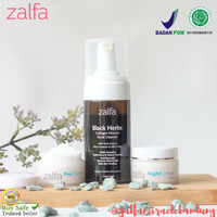 Zalfa Miracle Paket Acne + Black Herb Collagen Mousse