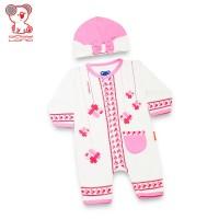 Baby Lona Jumper Fashion Muslim Girl Lengan Panjang 3-6 Bulan_01