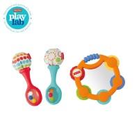 Fisher Price Tambourine and Maracas Gift Set - Mainan Edukasi Anak Bay