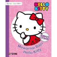 HELLO KITTY: MEWARNAI BAJU HELLO KITTY