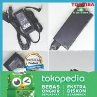 Adaptor Charger Laptop Toshiba 19V - 3.42A - ORIGINAL