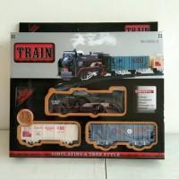 Mainan Train Set Kereta Api + Rangkaian Rel