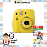 Fujifilm Instax Mini 9 Instant Film Camera - Clear Yellow