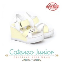 Sandal Wedges Anak Perempuan / Sendal Pesta Size 26-30 Catenzo CWP015