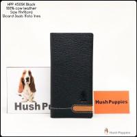 Dompet Hushpuppies 450SK black bifold super dompet pria dompet kulit
