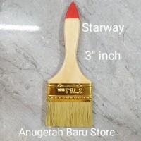 kuas cat 3 inch brush king koas serbaguna