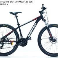 Sepeda MTB 27,5 Inch UNITED MONANZA 4.00 FRAME ALLOY