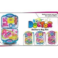 Mainan Anak Boneka Doctor Diagnosis Medical Center (Ada Boneka) FH218