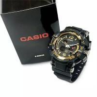Jam tangan pria keren branded Casio G Shock original anti air digital