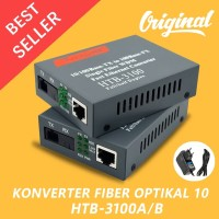 HTB-3100A / B Konverter Fiber Optikal 10/100Mbps RJ45 Single Mode