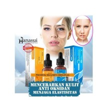 Serum Vitamin C + Collagen Anti Penuaan Wajah HANASUI Original BPOM
