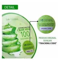 Gel Lidah Buaya Aloevera Soothing Gel / Original 100% ( BPOM )