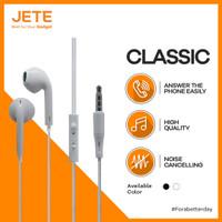 Handsfree / Headset / Earphone / EarPods JETE CLASSIC