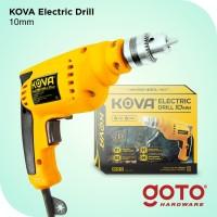 Kova Electric Drill Bor Tangan Listrik 10 mm Reversible