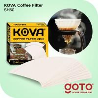 Kova Coffee Filter Paper V60 Size 01 Saringan Kertas Kopi