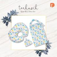 Paket Bantal & Apron Untuk Ibu Menyusui Motif Baby Boys Dino