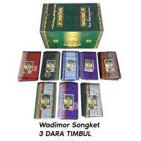 Wadimor Sarung Tenun Songket 3Dara Tiga Dara Timbul
