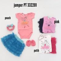 Baju Bayi Perempuan Jumper Set Rok Tutu Dancing With Stars PT 332201