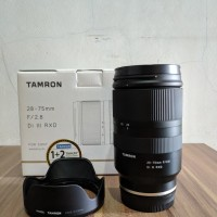 Tamron 28-75mm F2.8 Di III RXD Lens for Sony E-Mount - Lensa Sony