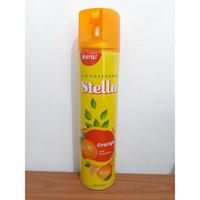 Stella Spray ORANGE 400 ml| Stella Pengharum Ruangan Spray Jeruk 400ml