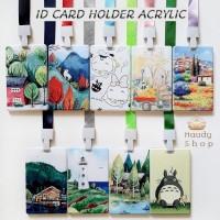 ID CARD HOLDER ACRYLIC / NAME TAG