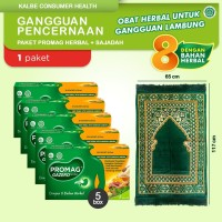 Promag Herbal (Gazero) Obat Herbal Gangguan Lambung & Sajadah