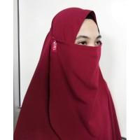 Cadar Tali Wolfis Premium - Mosel Hijab