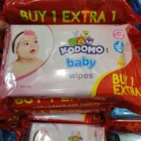 Tisu Basah Kodomo Baby Wipes Buy 1 Extra 1 isi 50+50 Tissue Tissu