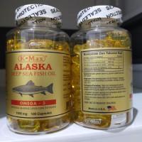 K Max Alaska Deep Sea Fish Oil Super Omega 369 ikan salmon