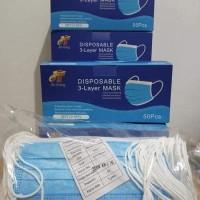 Ternama Masker Isi 50 3 Ply Earloop Disposable - Jual Masker Sensi