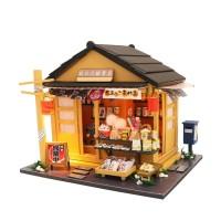 DIY MINIATURE DOLL HOUSE WOODEN / MINIATUR RUMAH BONEKA GROCERY