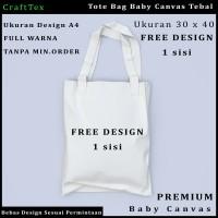 Tas Tote Bag / Tas Jinjing Baby Canvas Free Design