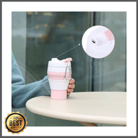 FASIA - Collapsible Silicone Foldable Coffee Cup 350ML Leak Proof M814