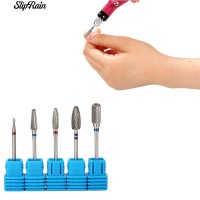 🌹♥ Untuk Nail Art Manicure Tools Carbide Drill Bits Rotary Burr