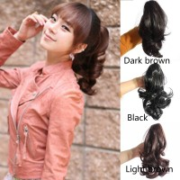 Hair Extensions & Wigs FASHION Vogue Lady Hairpiece Short Wavy Curly