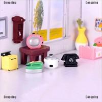 Boneka Miniatur Furniture Ruang Tamu untuk Rumah
