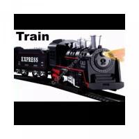 Mainan Miniatur Kereta Api Rail King Lokomotif Rel Classic Express