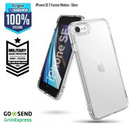 Ringke iPhone SE 2 / 8 / 7 Fusion Matte Clear Softcase Military