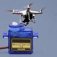 Trex SG90 Dinamo/Motor Micro Servo Untuk RC Helikopter/Drone Hitec