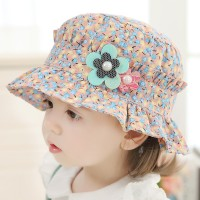 Topi bayi, Musim semi dan musim gugur bagian tipis lucu putri kerai