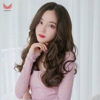 C Hair Extensions Long urly Wigs for Women Heat Resistant Synthetic