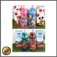 Botol air minum teguk DISNEY ORI Mickey Minnie mouse / Princess /