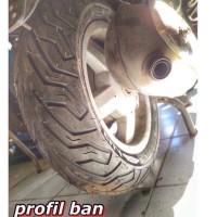 Ban Vespa Primavera Michelin City Grip 120x70-11 --- Belakang par