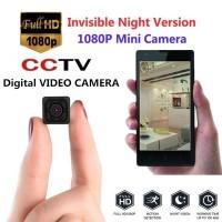 Kamera Pengintai Mini Kamera Tersembunyi Mini 1080P Portable dengan