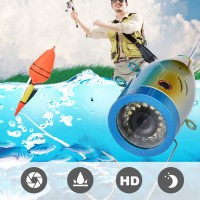 9in 30LEDs 1000TVL Fish Finder Underwater Fishing Camera Sea